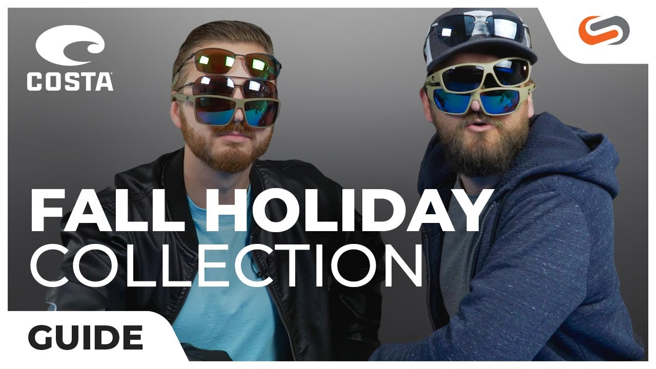 2625918a1f6a Costa Fall 2018 Polarized Sunglasses Collection   Costa Aviators   SportRx