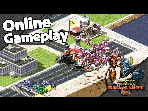 Red Alert 2 Online   Rocketeers Superiority   3 vs 3