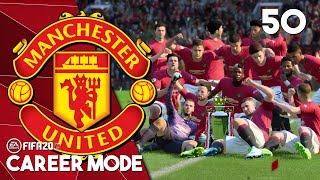Manchester United Mengangkat Trofi Premier League ke-14 | FIFA 20 Manchester United Career Mode #50