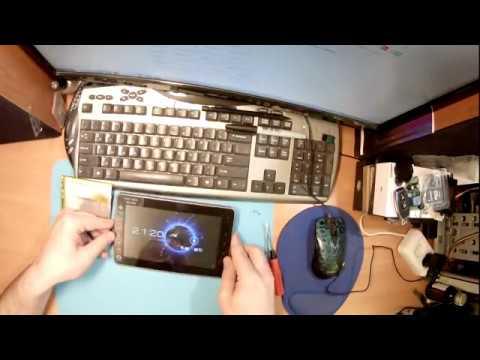 Ремонт планшета Texet