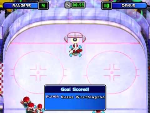 Old Games Friday: Backyard Hockey 2002 - YouTube