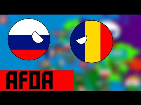 Russia Vs Romania | AFOE In Countryballs #1
