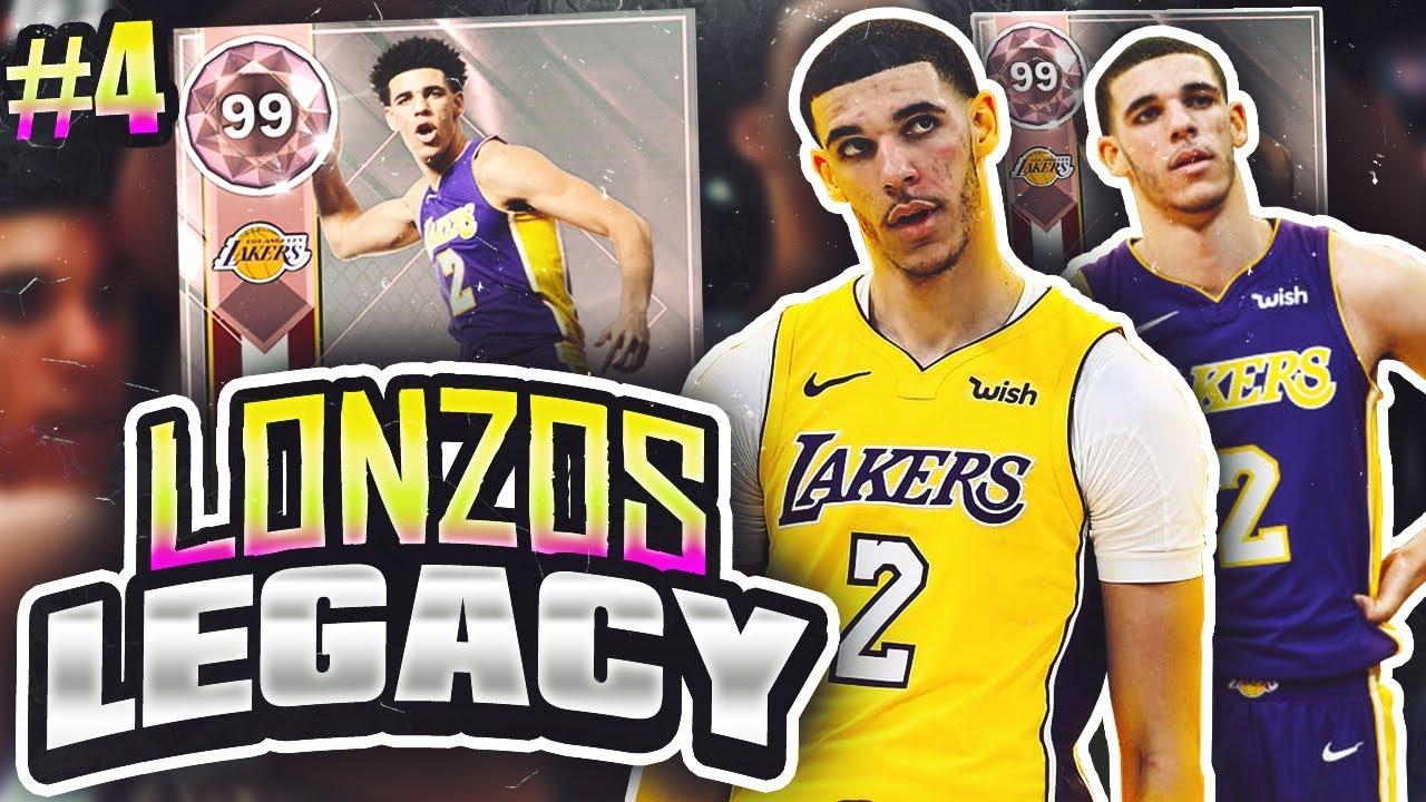 LONZOS LEGACY 2.0  4 - HUGE UPGRADES AMETHYST PULL!! NBA 2K18 MYTEAM ... 19a5e5176