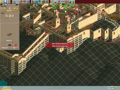 Rollercoaster Tycoon Loopy Landscapes #101 (Good Knight Park: A tight squeeze)
