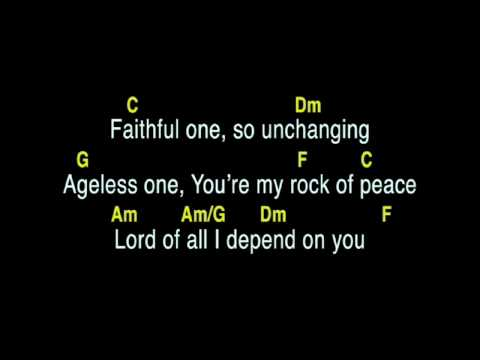Faithful One Chords By Brian Doerksen Worship Chords