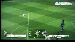 Pro Evolution Soccer 4 Playstation 2 Gameplay