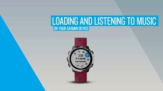 Garmin Forerunner 645 Music: Loading and Listening to Music on Your Garmin Device
