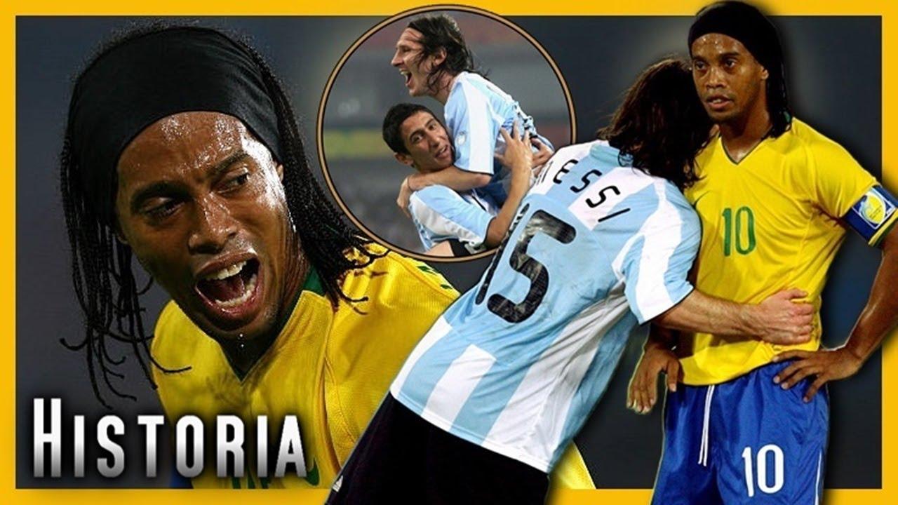 El Dia que Messi DESTROZO a su Ídolo Ronaldinho | HISTORIA