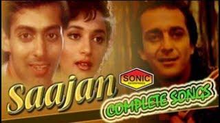 Movie Saajan All Songs With SONIC Jhankar