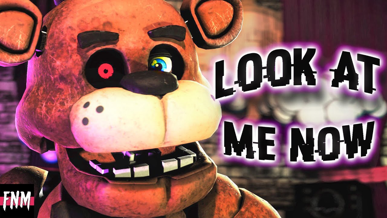 """Download FNAF SONG """"Look At Me Now"""" (ANIMATED)"""