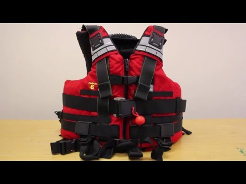 ACK Product Focus: Force 6 Swift Water RescueTec Life Jacket - PFD