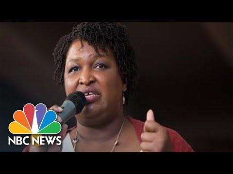 Watch Live: Oprah Campaigns With Georgia Democrat Stacey Abrams | NBC News