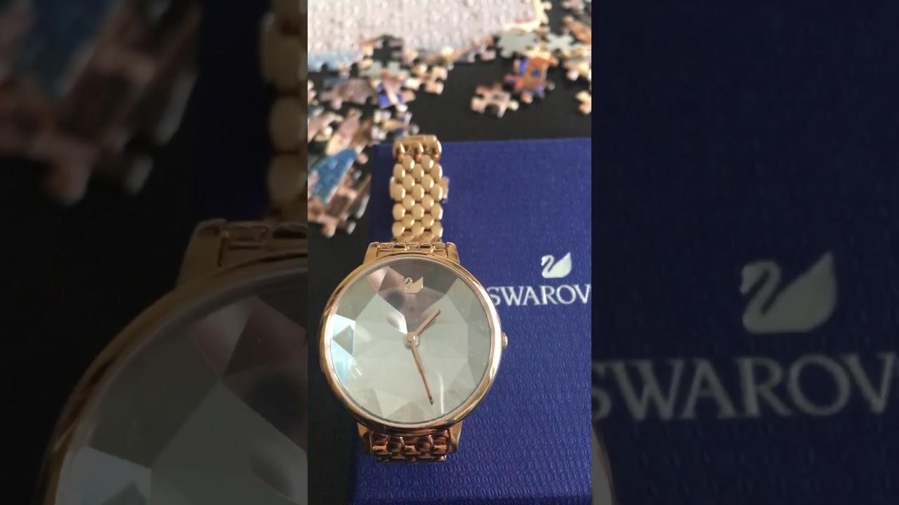 Swarovski Crystal Lake watch Review - YouTube