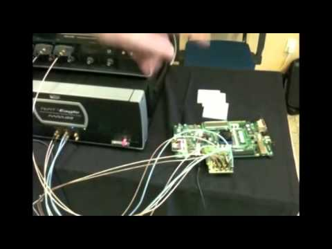 Mixel MIPI M-PHY joint Demo with LeCroy