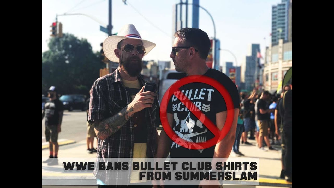 Wwe bans bullet club shirts from summerslam blvd bullies wwe bans bullet club shirts from summerslam blvd bullies investigate thecheapjerseys Image collections