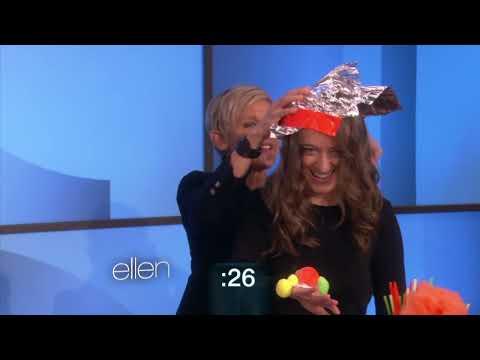 Alyson Hannigan and Ellen's Costume down