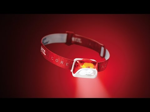 ACTIK CORE - Rechargeable and compact headlamp - HYBRID concept - 350 lumens
