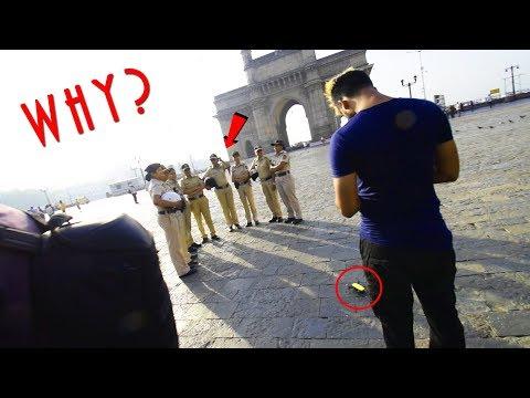 Why I am Surrounded By Mumbai Police ??
