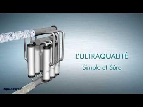 Filtration de l'eau par membranes : l'ultrafiltration AQUASOURCE - SUEZ