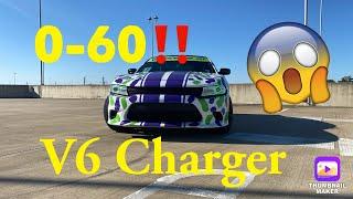 My 0-60 Dodge Charger SXT V6