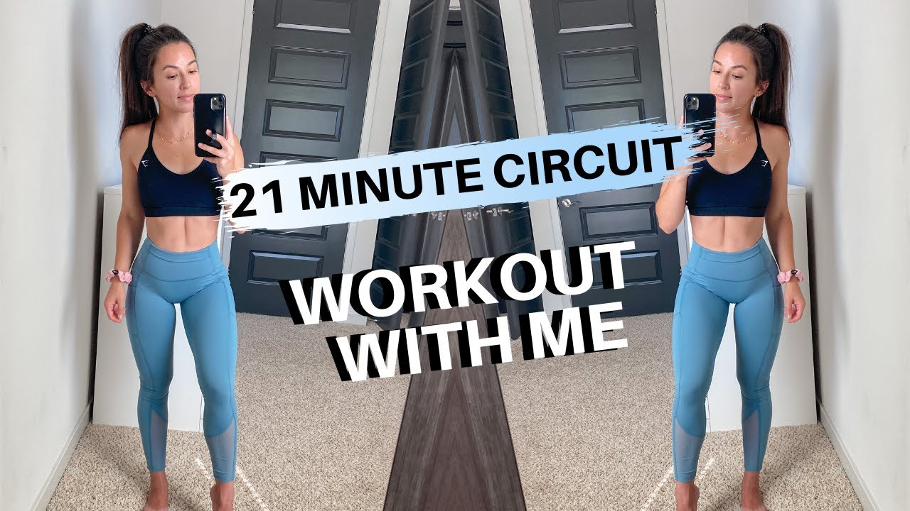 WORKOUT WITH ME // Dumbbell Full Body Circuit