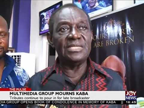 Multimedia Group Mourns KABA - The Pulse on JoyNews (20-11-17)