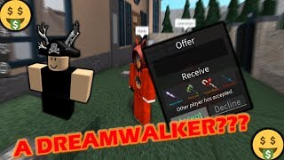 ROBLOX | ASSASSIN: HUGE DONATION - A DREAMWALKER??? (SHOUTOUTS TO INFINITEAVE)