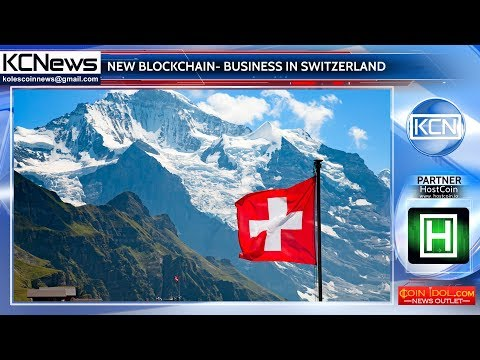 Swiss Telecom launches new blockchain-business