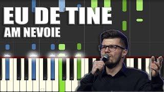BBSO - Eu de Tine am nevoie [Piano Tutorial] by Betacustic