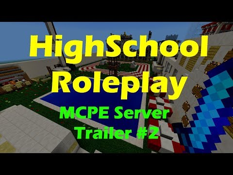 HighSchool Roleplay MCPE Server Trailer - by niahmm - YouTube