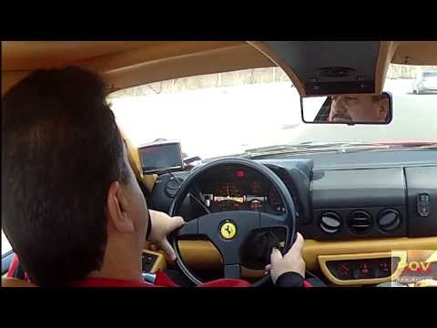 POV Ferrari Testarossa! You drive it and listen to that MUSIC!!