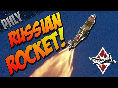 RUSSIAN ROCKET! YAK 3P! War Thunder Gameplay