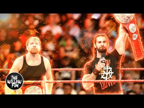 WWE Dean Ambrose & Seth Rollins Theme Sg The Secd Coming + Retaliati 2017 ᴴᴰ MIX