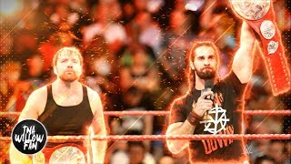 """WWE Dean Ambrose & Seth Rollins Theme Song """"The Second Coming + Retaliation"""" 2017 ᴴᴰ [MIX]"""