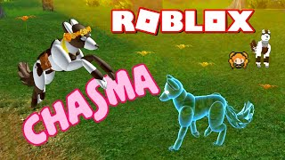 ROBLOX CHASMA! (Alpha) SPIRIT WOLF Can Change the Book of Magic! Exploring Elementals & Gifts