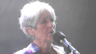Tom Morello and Friends--Joan Baez--11 17 15--Troubadour-- There But For Fortune