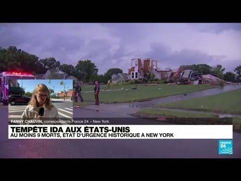 Download Tempête Ida aux Etats-Unis : état d'urgence historique à New York • FRANCE 24