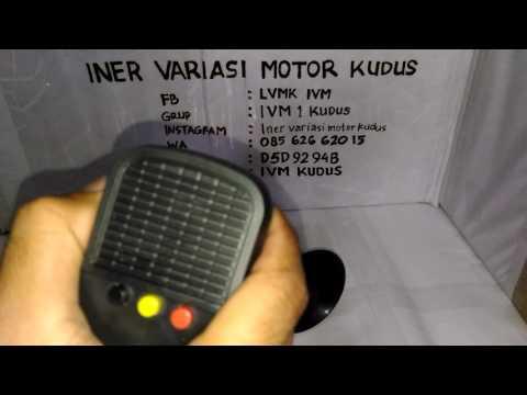 Sirine Polisi 3 Suara mic / Toa keras / 3 police siren sounds with the microphone INER IVM KUDUS