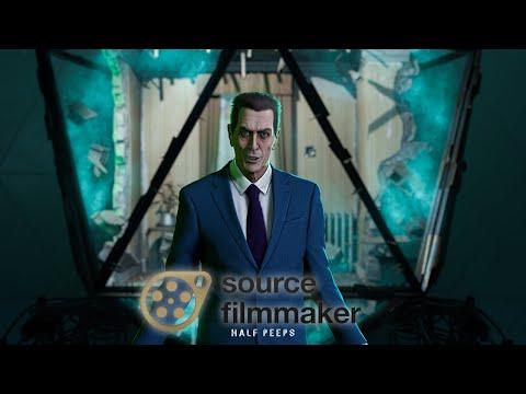 Half-Life: Alyx Ending In Source Filmmaker (Cinematic) [S2FM]