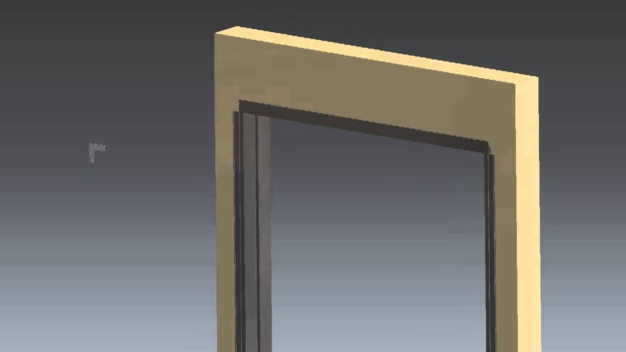 omega borrowed lite aluminum door frame installation video