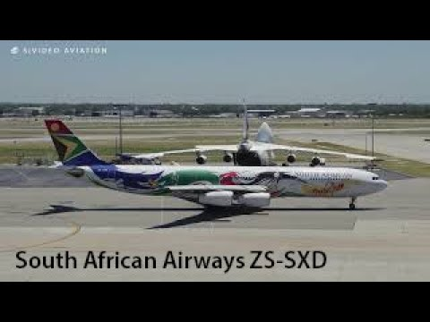 2012 OLYMPICS. South African Airways (ZS-SXD) landing and taxiing to Terminal 1 at Perth Airport.