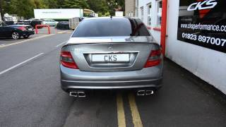 Mercedes W204 C320CDI CKS Sport Exhaust, Diffuser, ECU Remap + Accessories