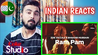 Indian Reaction On Coke Studio 12 Ram Pam Zoe Viccaji Shahab Hussain