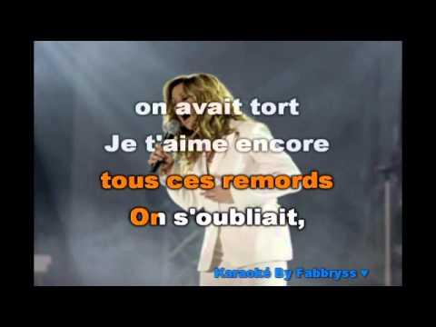 Pas Sans Toi - Lara Fabian - Karaoké FKA