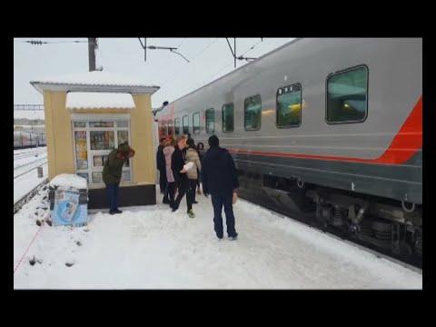 Пьяных  молодых военных в Воронеже сняли с поезда «Москва – Анапа»
