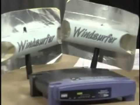 HOW TO MAKE A FREE WIFI EXTENDER WINDSURFER EZ12 12dbi BOOSTER FREE ANTENNAS  YouTube