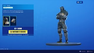 NEW SKIN NEW FORTNITE BOUTIQUE of September 3rd (TODAY'S BOUTIQUE)!