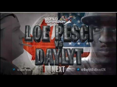KOTD - Rap Battle - Loe Pesci vs Daylyt | #WD4