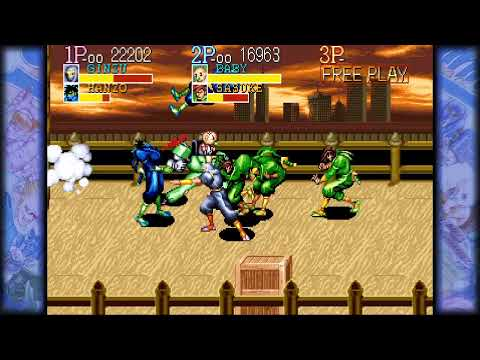 Guerrilla Gamer-Capcom Beat'em Up Collection |