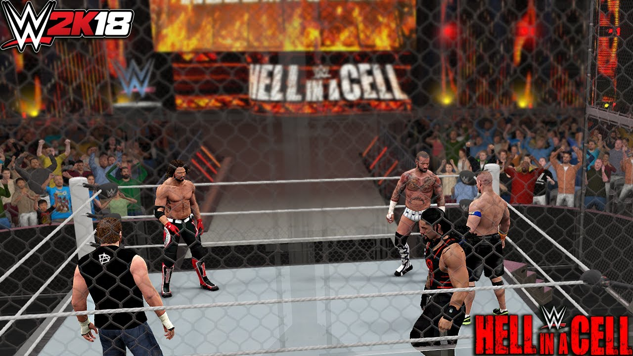 Fatal 5-Way Hell In A Cell (Concept)